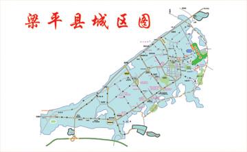 东城丽景区位图