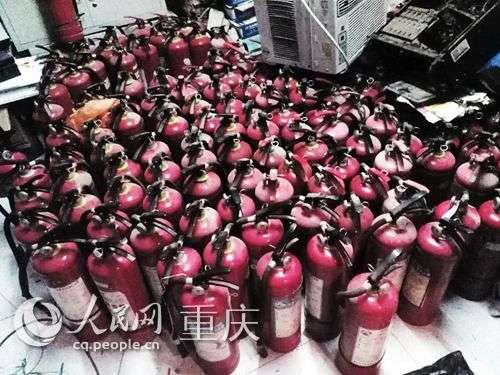 多部门联合收缴不合格消防产品80件
