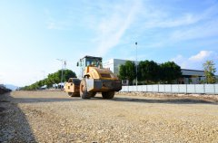 梁平投入1800余万元改造工业园区道路 改善通行条件