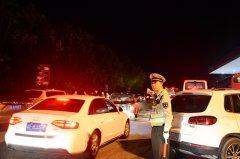 梁平:高速执法人员坚守一线 保障返程顺利