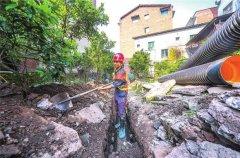 梁平兴隆村三级管网雨污分流工程预计6月完工